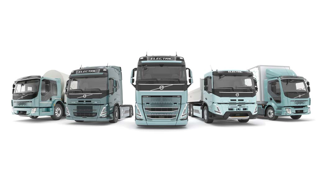 A lo largo de 2021 Volvo Trucks desplegará en los mercados europeos una completa gama de vehículos industriales eléctricos.