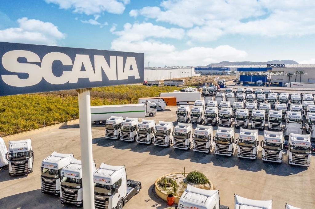 Intercox confía en Scania