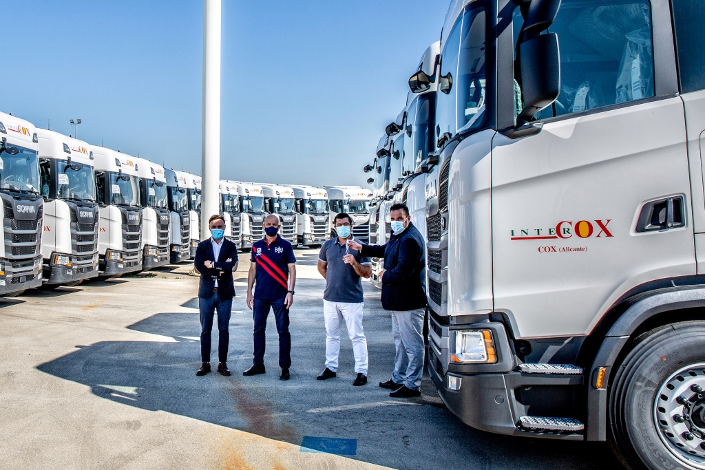 Intercox confía en Scania