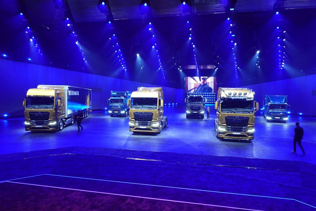 MAN Truck & Bus presentó su nueva gama en Bilbao a principios de 2020.