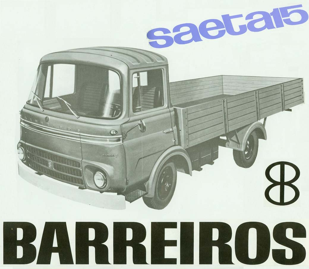 El Barreiros Saeta 15 se podía conducir con carnet de turismo siendo el más ligero de la familia.