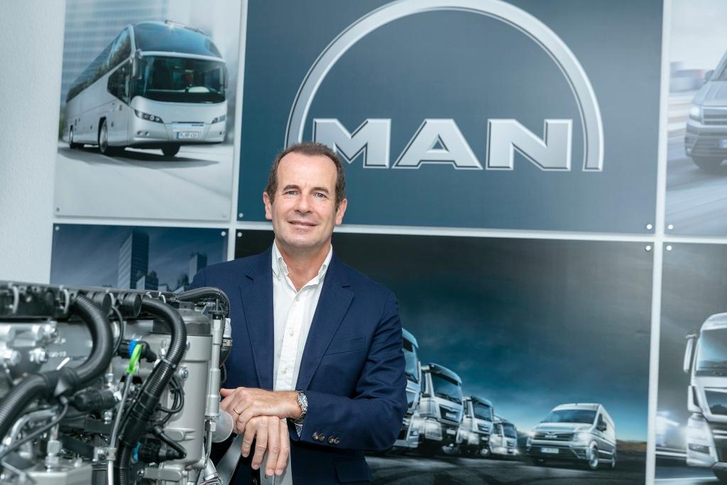 Stephane de Creisquer responsable de MAN Truck & Bus Iberia.