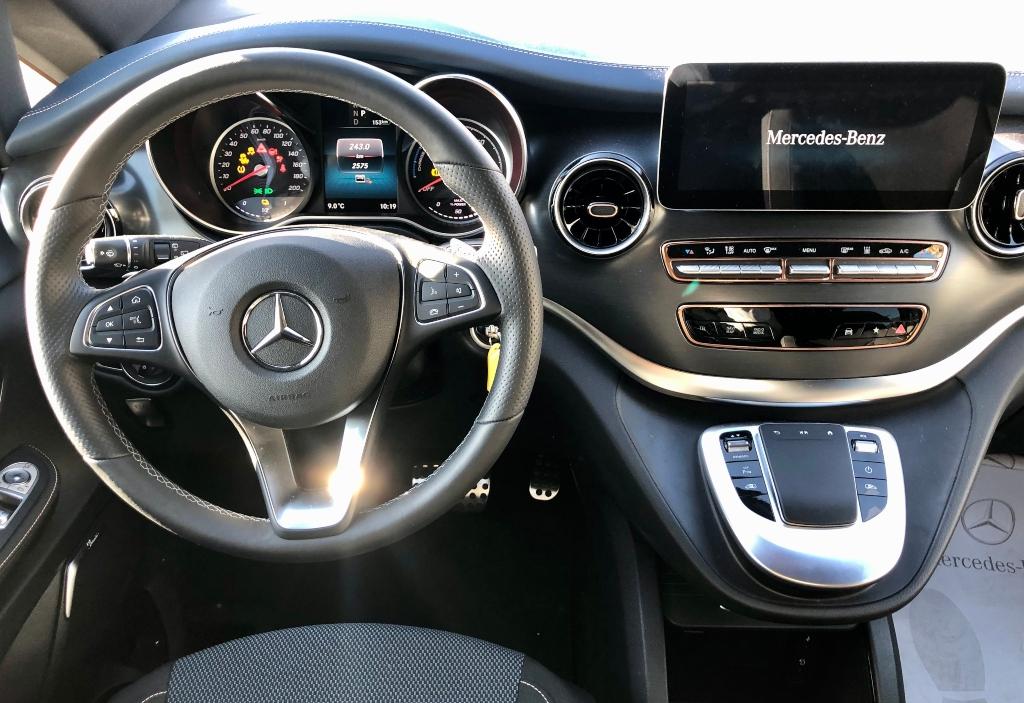 Probamos el Mercedes-Benz EQV