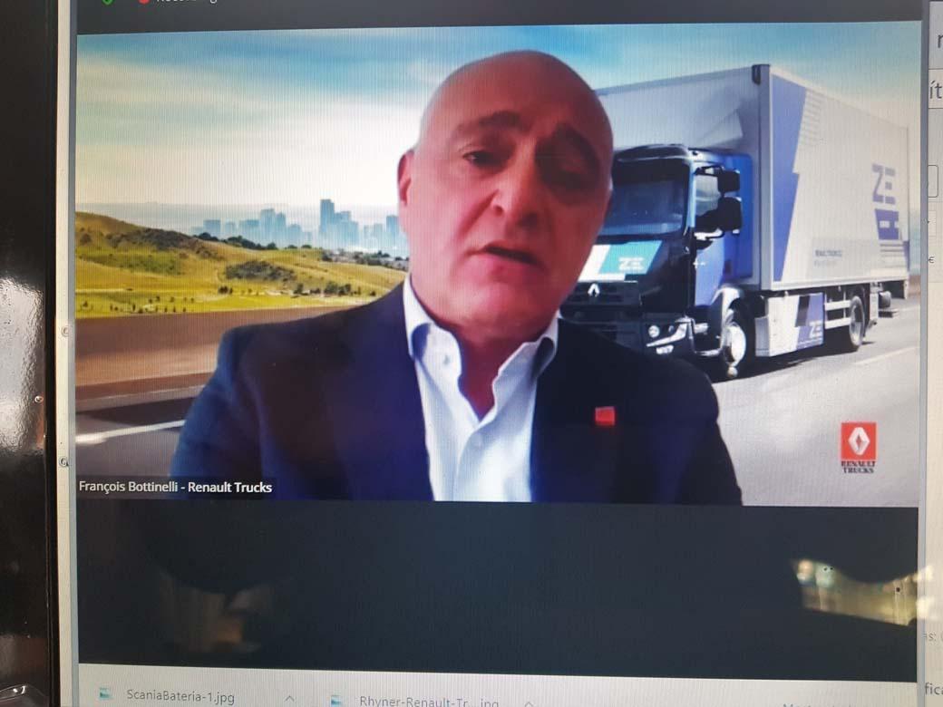 François Bottinelli CEO de Renault Trucks en España.