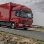 Prueba camión furgón rígido Mercedes Benz 1230 Euro 6