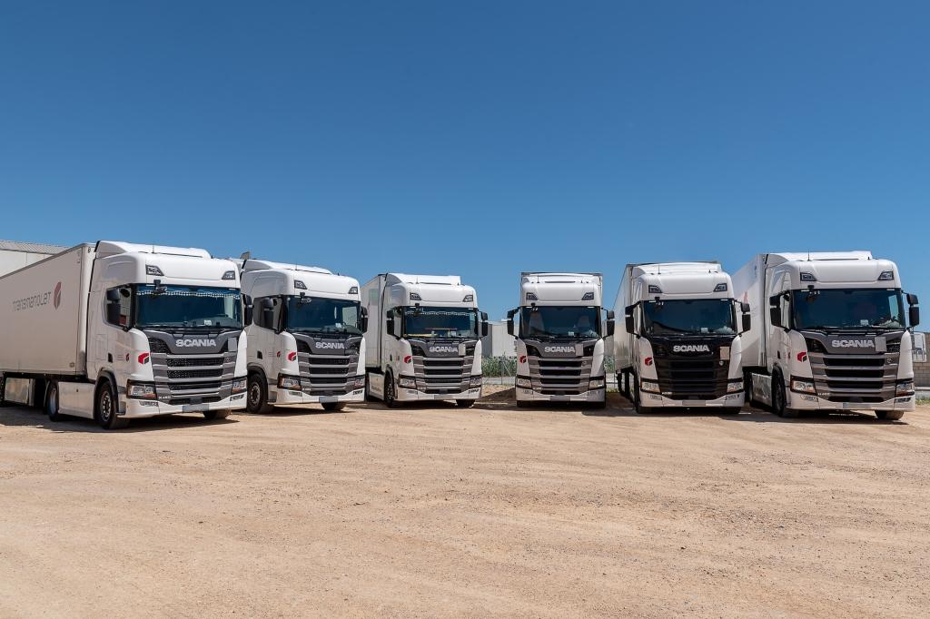 Transmanolet incorpora 15 Scania