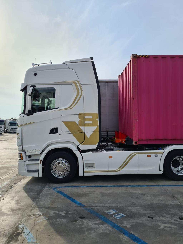Scania entrega el primer 770 CV
