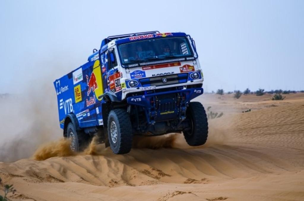 Kamaz Master lidera el Dakar