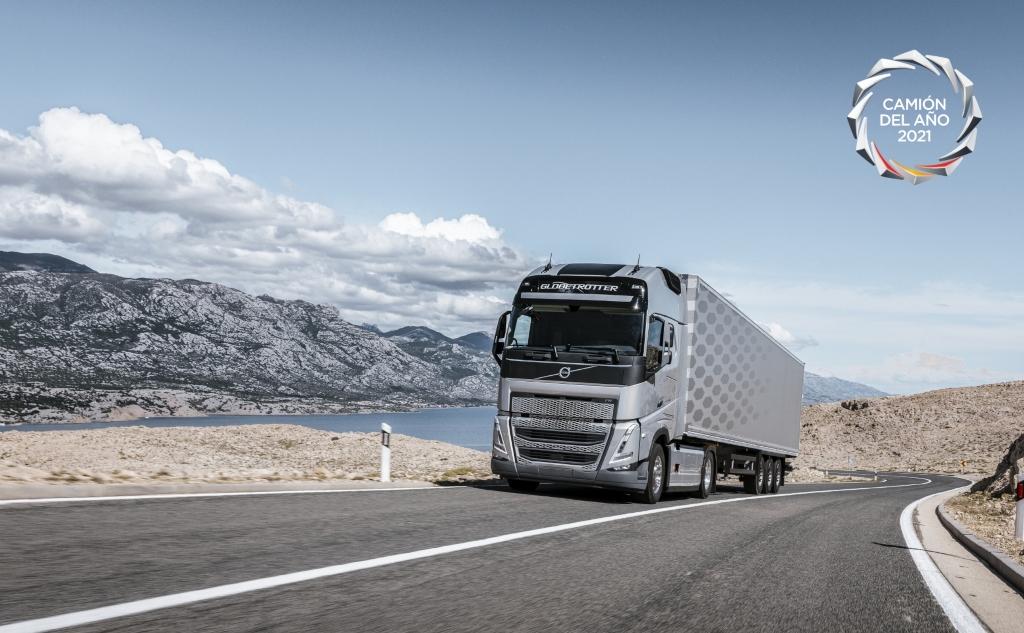 el volvo fh gana el premio camión del año 2021 - encamion