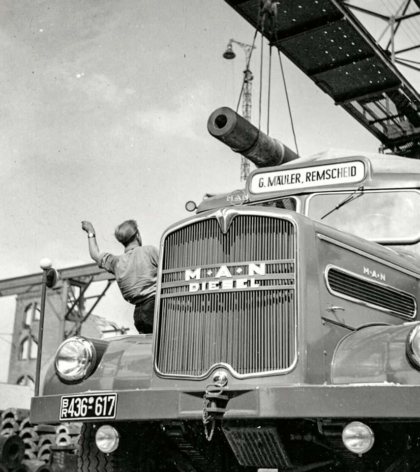 Desde el siglo XVIII hasta la actualidad MAN no ha cesado de innovar en el transporte.