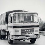 1971 MAN realiza sus primeras experiencias en pista cerrada de un camión sin conductor humano a bordo.