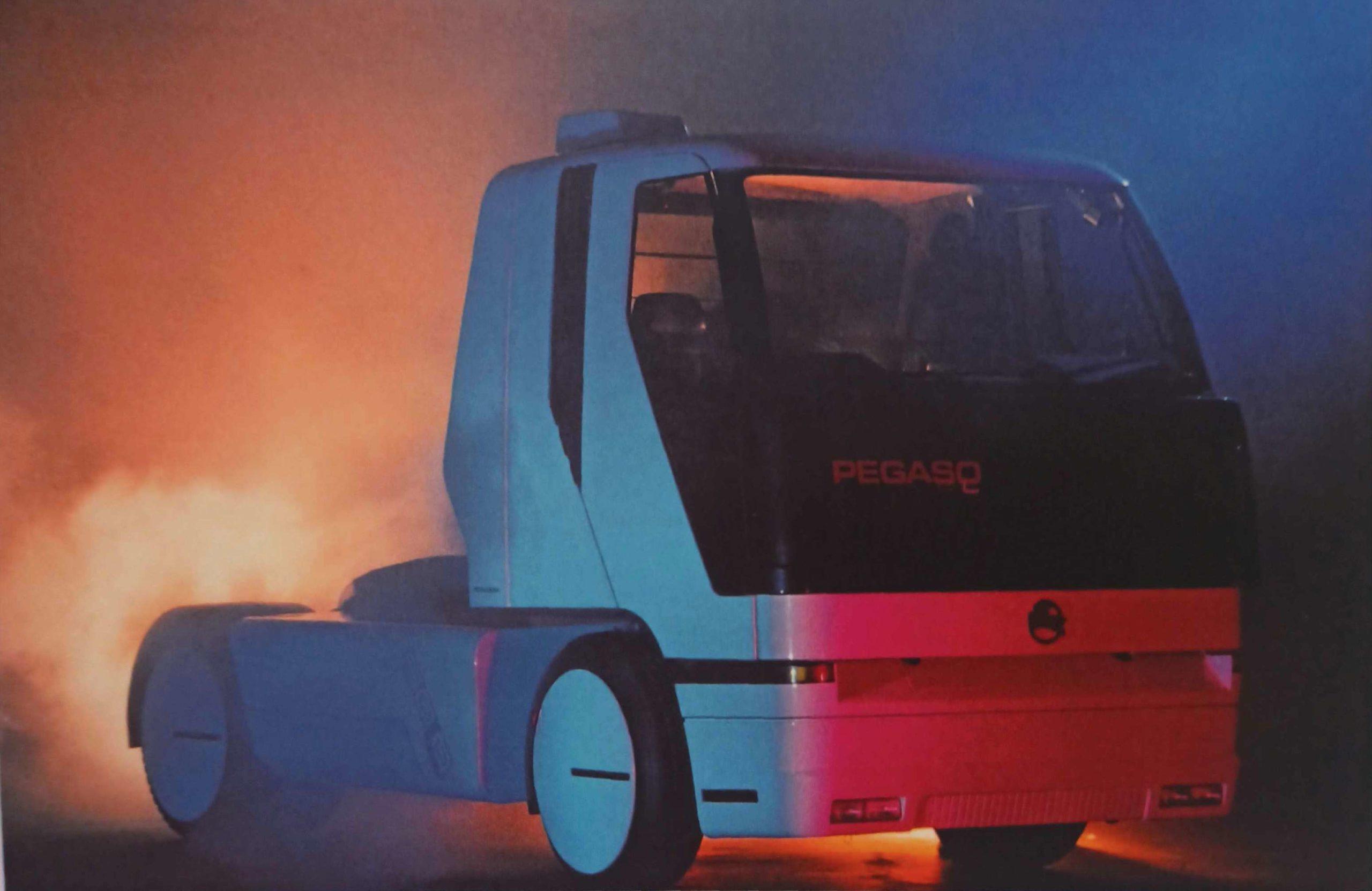 Concept Truck Pegaso SOLO 500
