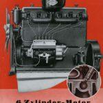 Publicidad de los motores MAN Diesel en 1937.