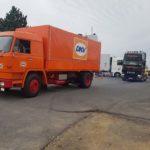 Aquí vemos un camión de origen Büssing y motor subchasis ya con la marca MAN integrada.