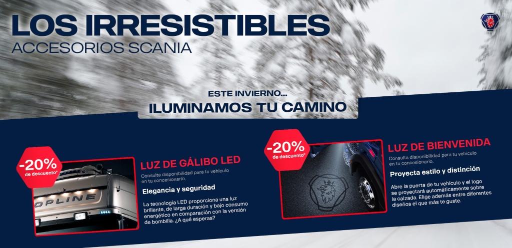 Scania lanza campañas de accesorios