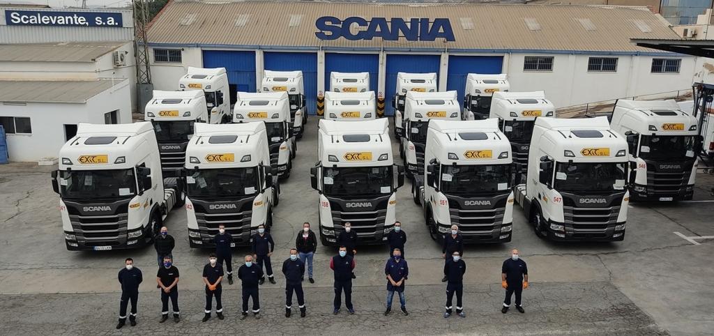 Grupo Exit apuesta por Scania