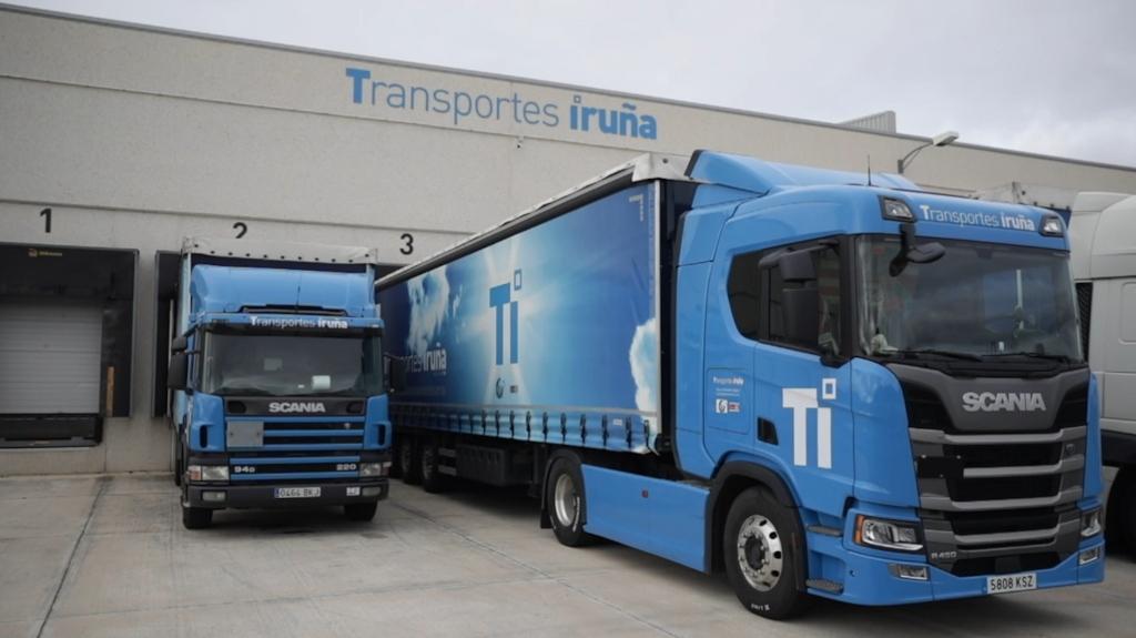 Transportes Iruña ahorra combustible