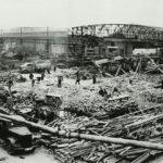 La factoría de MAN en Nuremberg sería totalmente destruida bajo los bombardeos aliados en 1945.