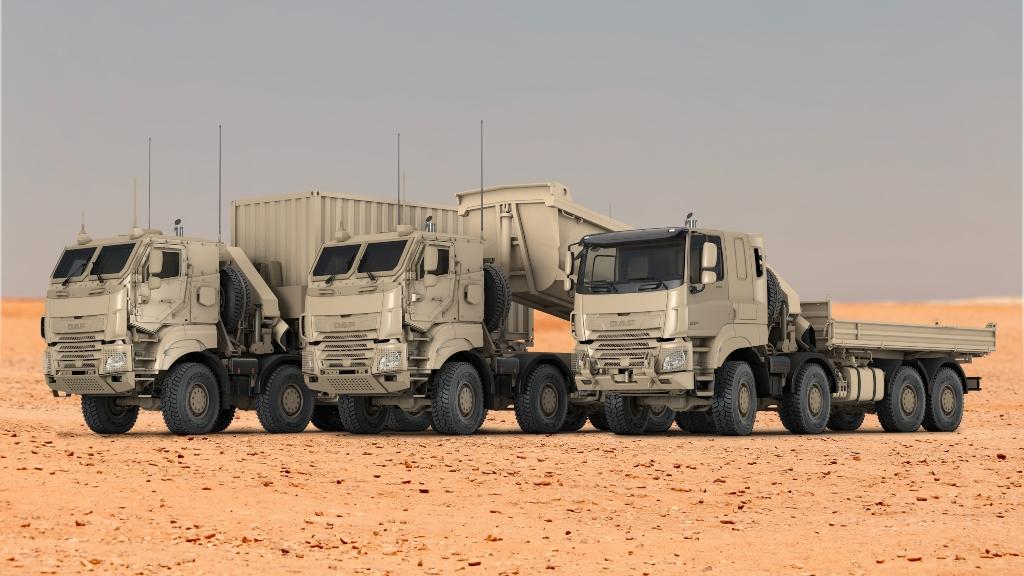 DAF recibe un pedido de las fuerzas armadas