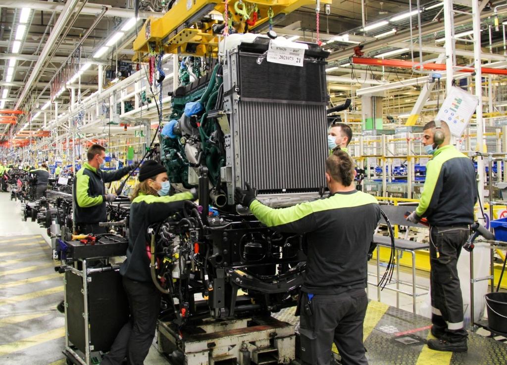 Comienza la producción de la nueva gama de Volvo