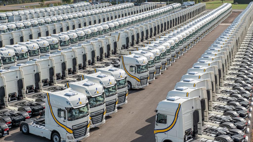 DAF Trucks cuenta con su tractora XF para ponerse en segundo puesto entre las tractoras más vendidas.