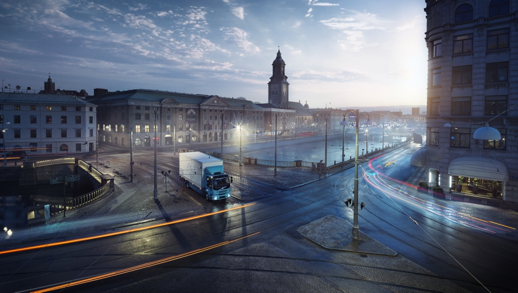 Volvo Trucks impulsa la electromovilidad