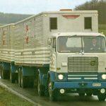 El camión Volvo F 88 con motor de 10 litros llegaba al mercado en 1968, con turbo llegaba a los 260 CV.