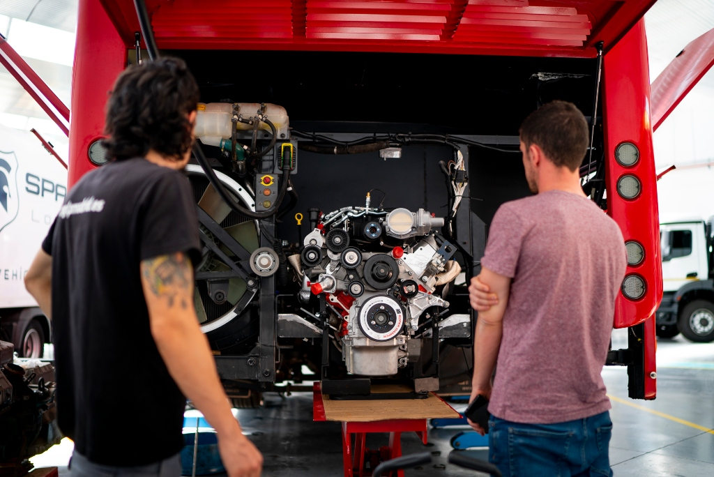 BeGas sustituye motores diésel