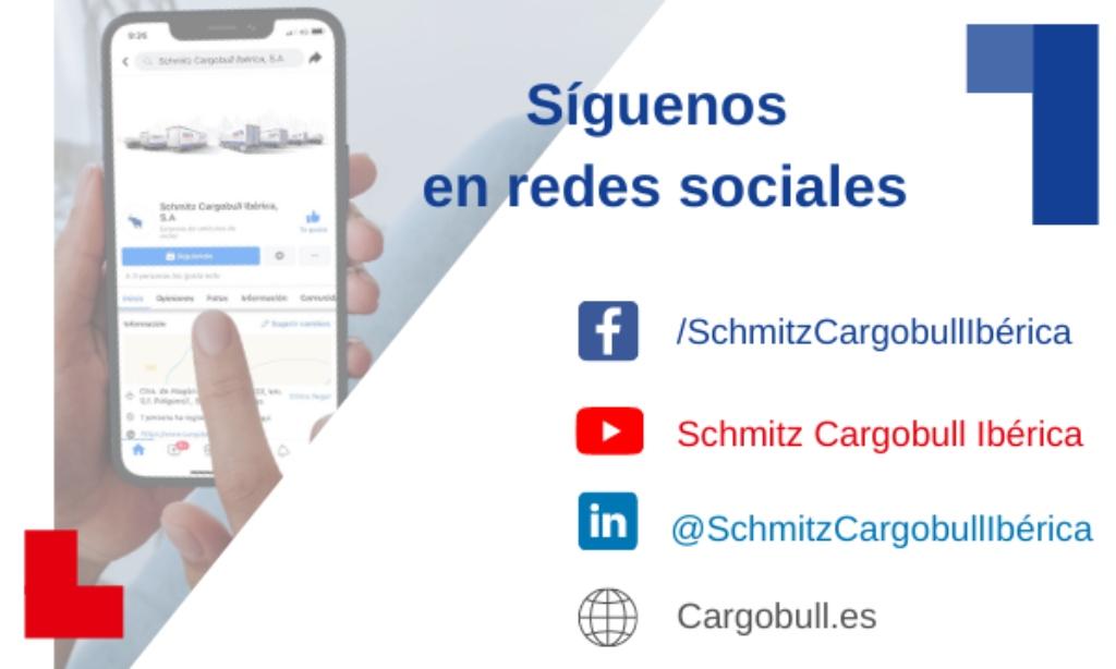 Schmitz Cargobull Ibérica estrena redes sociales