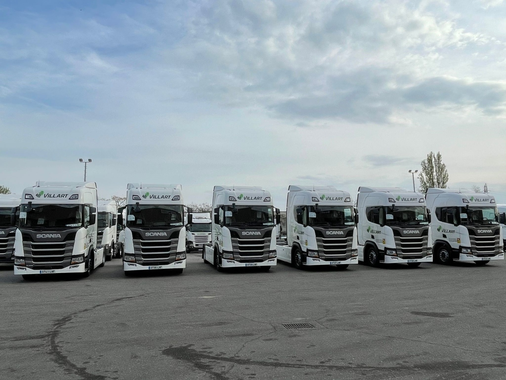 Villart Logistic confía en Scania