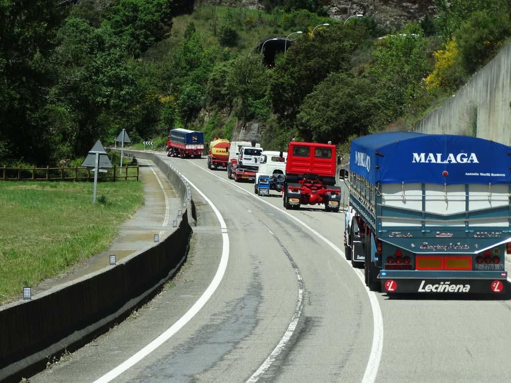 Durante una semana camiones de hasta siete décadas de antigüedad volvieron a recorrer las rutas más antiguas de nuestras carreteras.