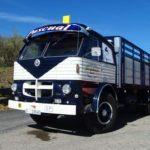 El camión Pegaso 165, modelo 1060, de dos ejes podía llegar a las 20 toneladas de PMA.