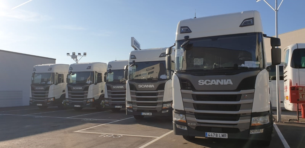 Molgás Energía incorpora 5 Scania