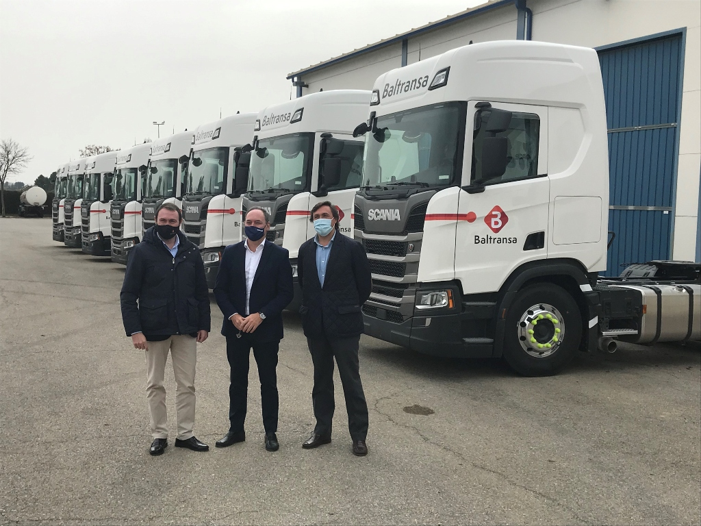 Baltransa confía en Scania