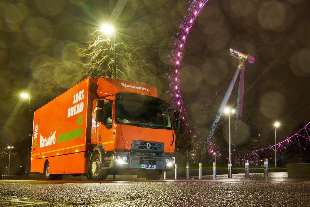 Warburtons incorpora Renault Trucks D Z.E.