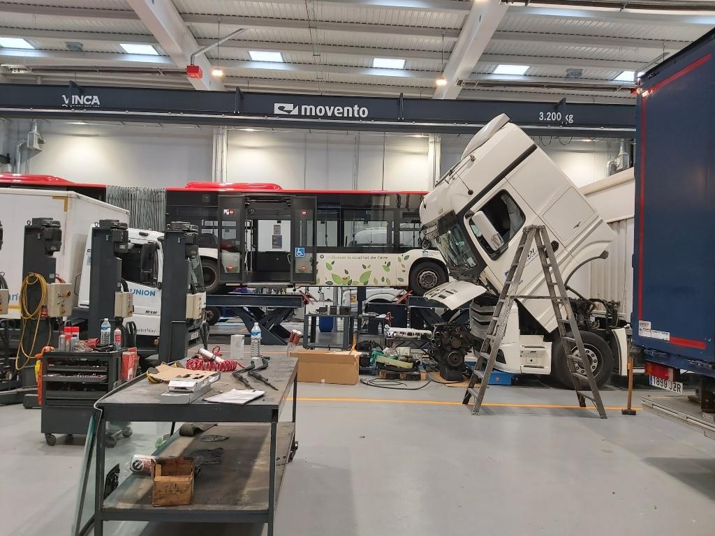 Stern Motor inaugura un taller