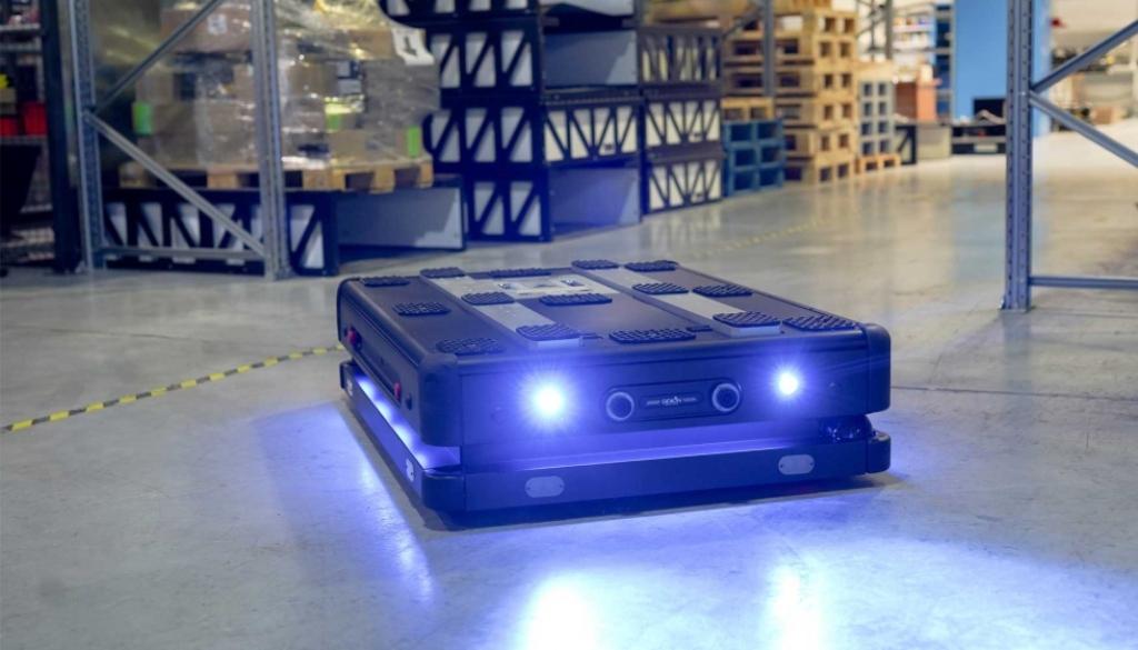 DB Schenker invierte en robots