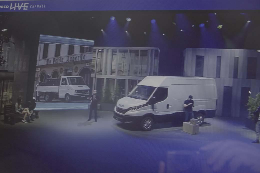 El Daily también se renueva e integra als funciones del asistente de voz IVECO Driver Pal.