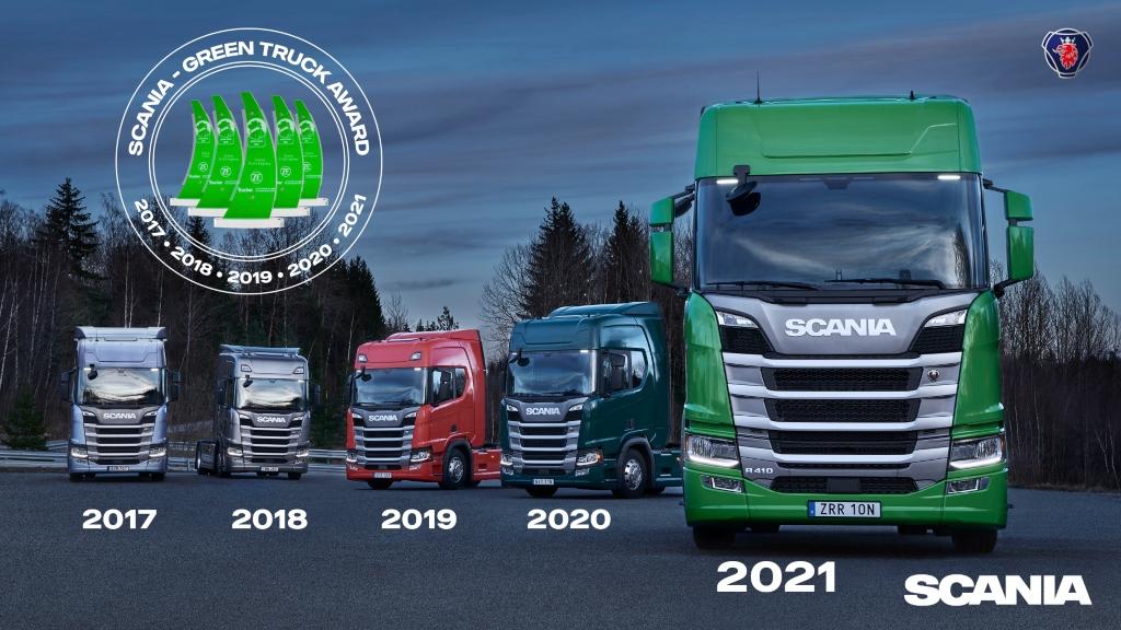 Scania gana el Green Truck