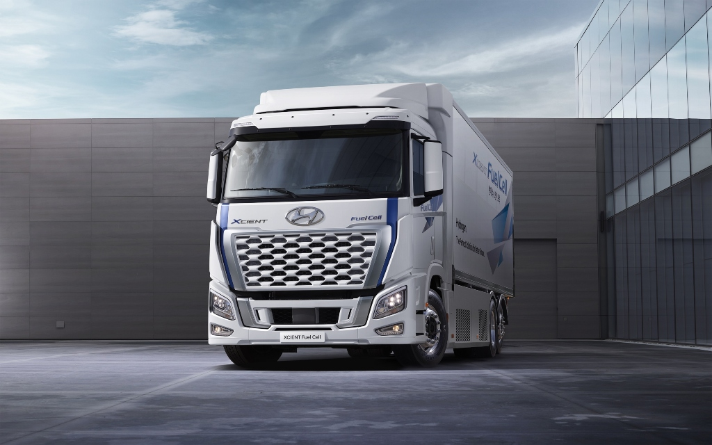 Hyundai mejora el diseño del XCIENT Fuel Cell