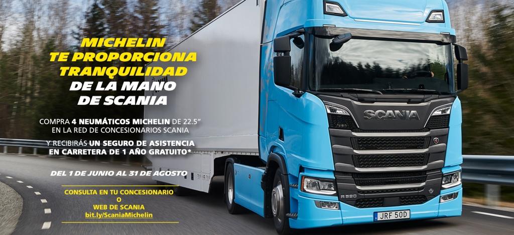 Nueva campaña de Michelin y Scania