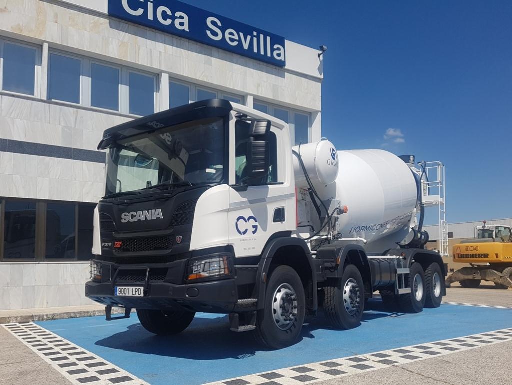 Áridos y Hormigones Hispalenses incorpora 3 Scania