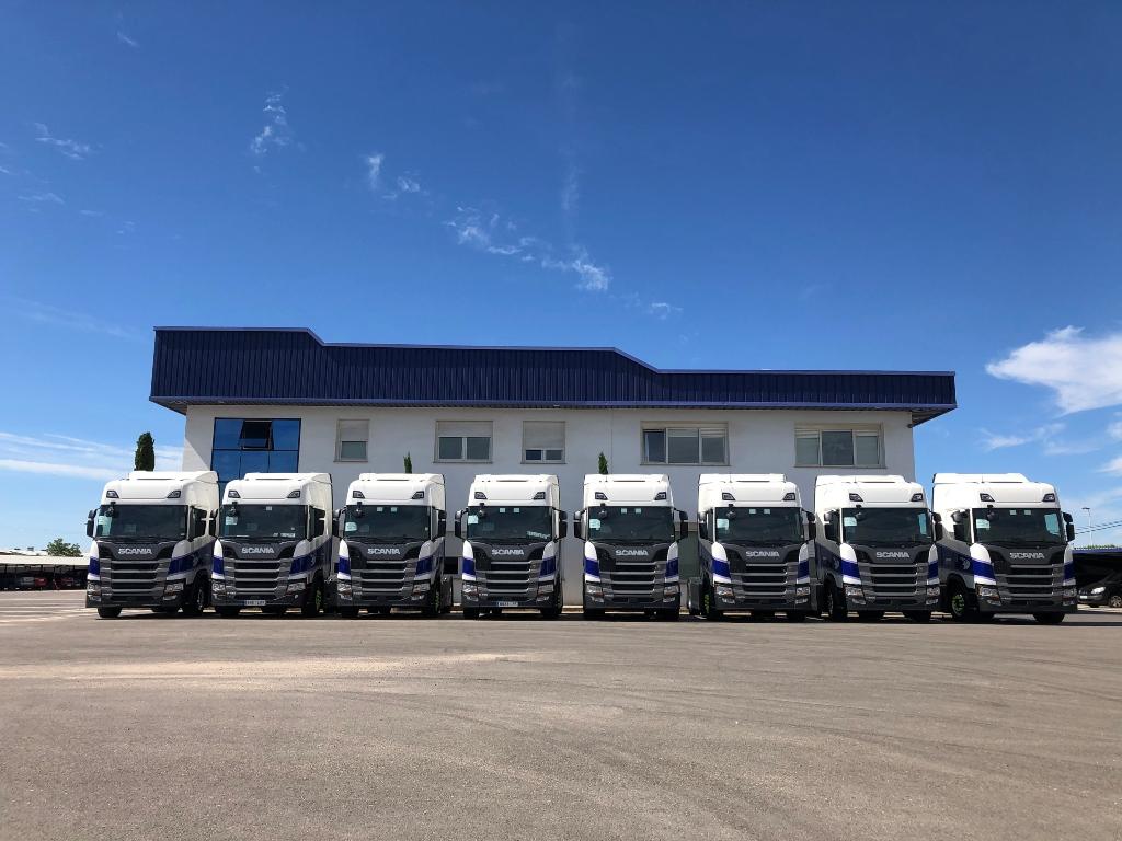 Pañalón incorpora 20 Scania