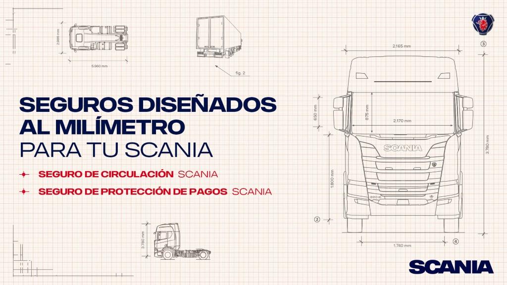 Seguros Scania a medida