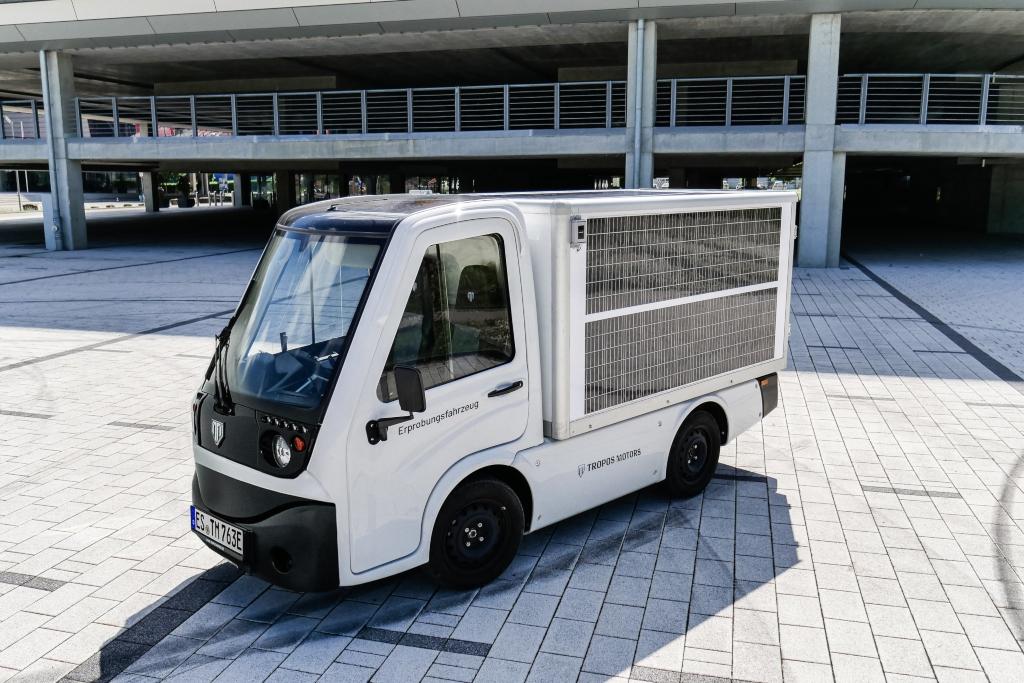 Transportador eléctrico Tropos ABLE