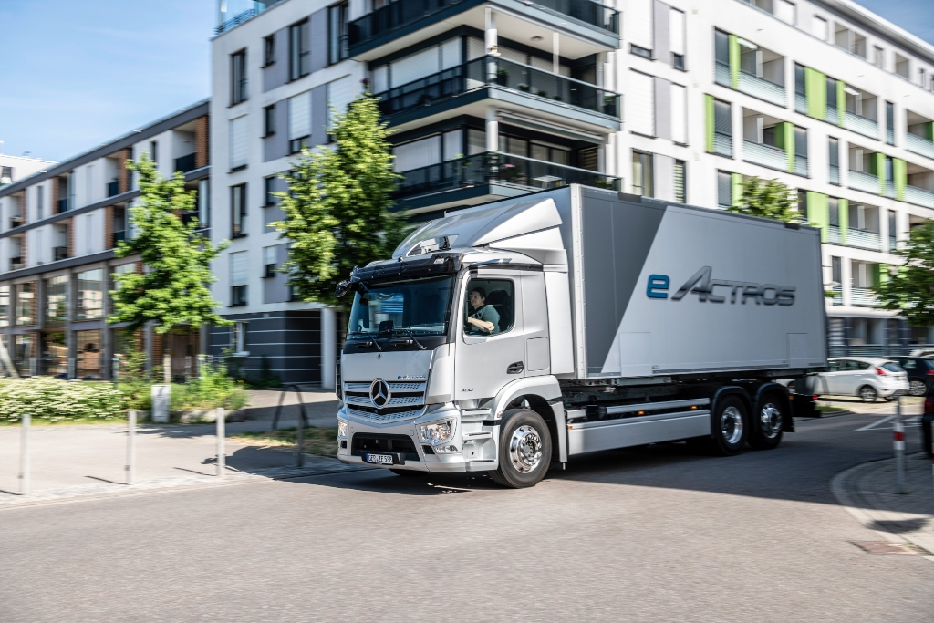 Nuevo Mercedes-Benz eActros