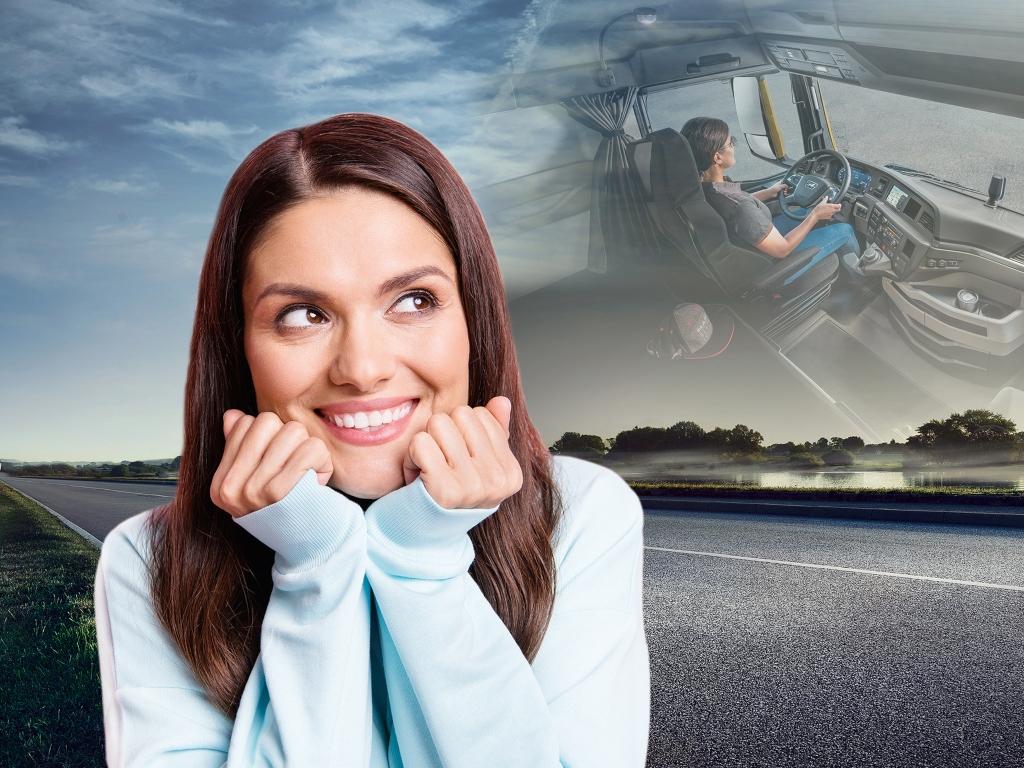 MAN ayuda a las mujeres conductoras