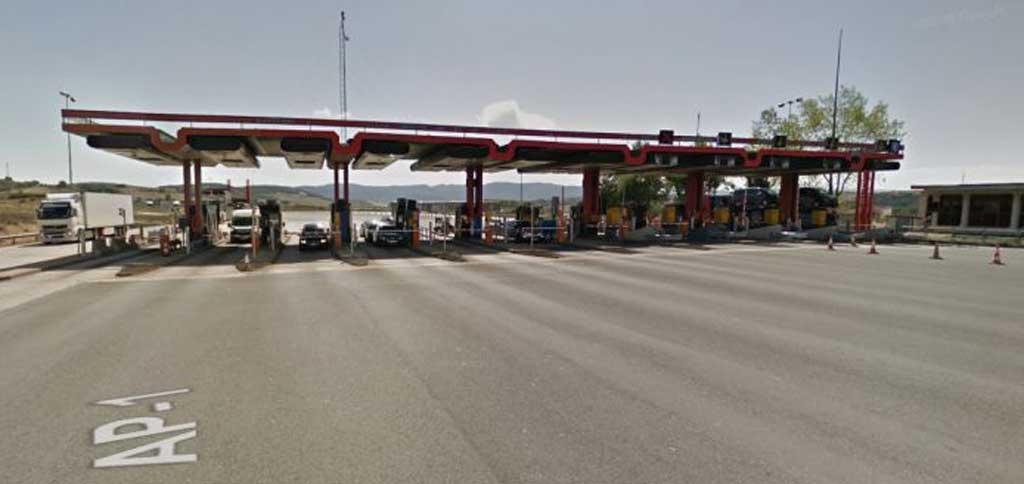 La Ap1 entre Burgos y Vitoria dejó de sufrir peajes con anterioridad a 2021.