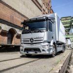 El Mercedes Benz eActros para 300 kms de autonomía inicia su fabricación en serie en Octubre de 2021.