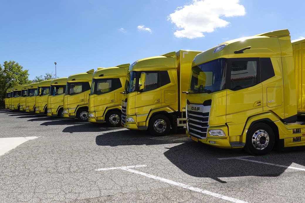 DAF Trucks ha elegido tierras andaluzas para mostrar a nivel internacional sus nuevos camiones XF, XG y XG+.